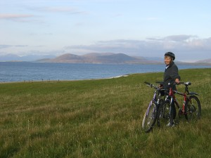 Cycling on Benbecula