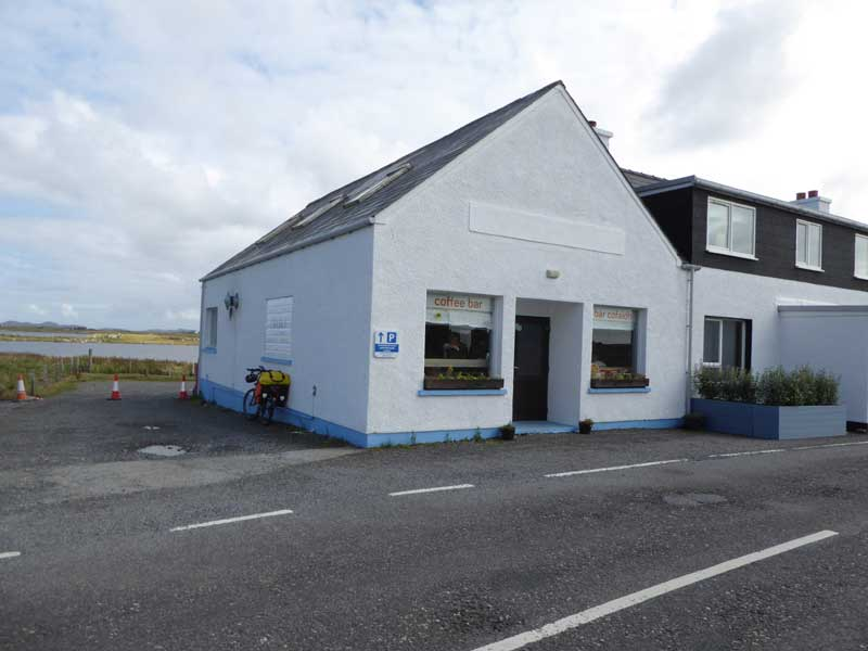 Charlies Bistro in Benbecula
